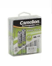AA NiCd Solar Light Batteries 600mAh 24pk / toys & electronics Camelion + FS