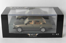 ALFA ROMEO ALFETTA 1.8 2000 1980 GREY BROWN METAL NEO 45553 1/43 MARROON MARRON