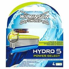 WILKINSON SPADA Hydro 5 POWER SELECT UOMO RASOIO DA BARBA LAME RICARICHE - 4 conf.