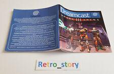 SEGA Dreamcast - Quake III Arena - Notice / Instruction Manual