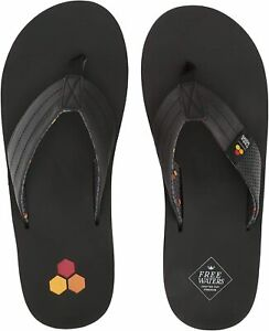 NWT Freewaters x Channel Islands Surfboards Britt Black Sandals - Men's Size 10