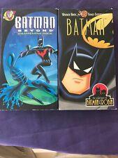 Kids WB Batman VHS Lot Batman Beyond Adventures Of Batman And Robin Disappearing