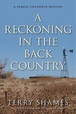 NEW! Amazing Cozy Mystery! A Reckoning In The Back Country By Terry Shames