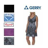 SALE Gerry Women's Sundress Sleeveless Racerback Active Summer Dress VARIETY E52