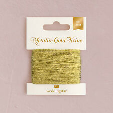 Metallic Gold Twine Wedding Favor DIY Decorations - 66'
