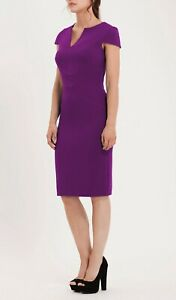 Brand new with the tags designer dress size 14 purple colour