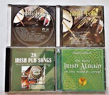 28 IRISH PUB SONGS-BEST IRISH ALBUM IN THE WORLD-ESSENTIAL IRISH FOLK 5 CD LOT