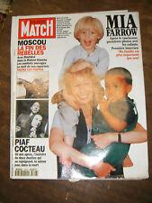 Paris Match N° 2316 14 octobre 1994 Mia Farrow Amin Maalouf Inondation Bollène