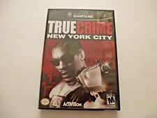 Nintendo Gamecube True Crime New York City  Video Game 2003 Activision