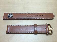 New - COBRA Brown Leather Strap 16 mm - Correa Piel Marrón 16 mm - Nueva