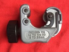 Ridgid No. 118 Close Quarters Tubing Cutter 1/4 Inch - 1-1/8 Inch Capacity