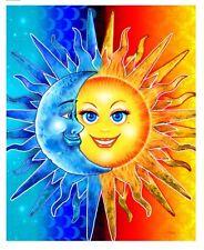 "Sun & Moon Huge Towel For Two 54""x 68"" Big Blanket Towel"
