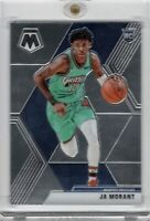 2019-20 Panini Mosaic #219 Ja Morant RC Rookie Card Base Chrome Grizzlies READ!!