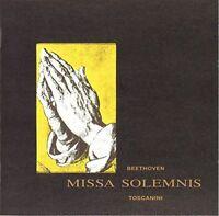 ARTURO TOSCANINI CONDUCTING NBC SYMPHONY-BEETHOVEN MISSA SOLEMNIS -JAPAN CD B63