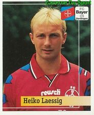 192 HEIKO LAESSIG GERMANY BAYER 05 UERDINGEN STICKER FUSSBALL 1995 PANINI