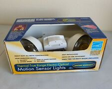 EML Technologies Thermal True Range Electro Optical Motion Sensor Lights NEW