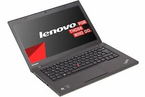 """Lenovo ThinkPad T440 14"""" i5-4300U 8GB RAM 500GB HDD HD-Webcam Windows 10 Pro"""