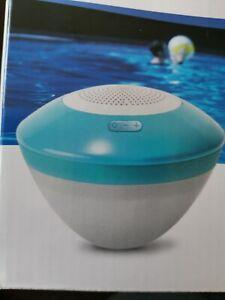 Intex floating LED speaker