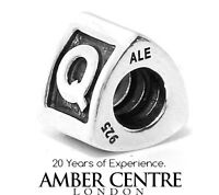 Genuine Pandora Silver 925 ALE Charm - Letter Q RRP£30!!! - 790323Q