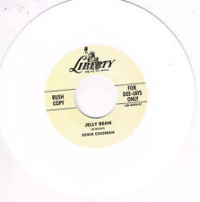 EDDIE COCHRAN - JELLY BEAN / DON'T BYE BYE BABY ME (Ltd WHITE Wax) - Rockabilly
