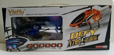 Viefly Defy V789E I/R Remote Control RC Battle Helicopter Blue New Open Box 14+