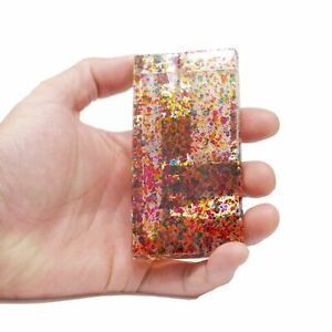 Acrylic Dugout with Hitter and Rod Cleaning Tool - Multicolored Sprinkles