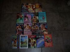 Lot of 16 Timeswept Futuristic Romance books