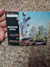 Master Chu and the Drunkard Hu NES Nintendo Instruction Manual Only VERY NICE