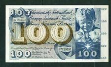 More details for switzerland  - 1972 100 francs circulated banknote
