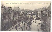 CPA 03 - MOULINS (Allier) - Place d´Allier (Vue prise du Sacré-Coeur)