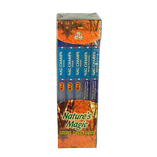 Varillas de incienso Nag Champa 200 varitas Natures Magic decoración aroma hogar