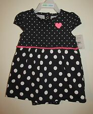 Carters Girls CUTE Skirted One Piece (Size 3-6 M) BRAND NEW W TAGS