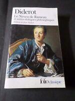 Libro de Bolsillo Diderot, El Sobrino De Rameau, Folio