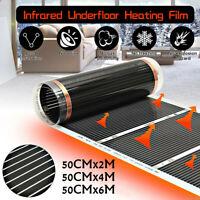 60°C Electric Home Floor Infrared Underfloor Heating Warm Film Mat