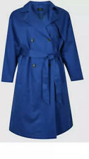 M&S COLLECTION  CURVE LADIES  Trench Coat SIZE 26 B.N.W.T