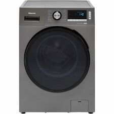 Hisense WDBL1014VT Free Standing 10Kg A Washer Dryer Titanium New from AO
