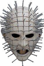 Halloween LifeSize Costume HELLRAISER III PINHEAD LATEX DELUXE MASK Haunted NEW