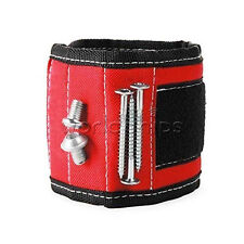 Embedded Magnets Magnetic Wristband for Holding Tools Screws Nails Bolts Gadgets