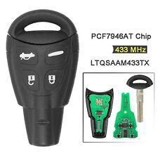 4 Button Car Keyless Entry Remote Key Fob 315MHz For Saab 9-3 9-5 LTQSAAM433TX