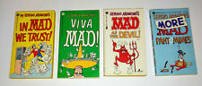 4 Mad Magazine Sergio Aragones Pocket Books Pantomimes, Viva, Devil, We Trust