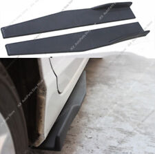 2PC Universal Car Side Skirt Rocker Splitters Winglet Shovel Decorative Winglet