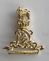 New 9ct Gold LIFE GUARDS Lady's Brooch. Made to order. Excellent quality