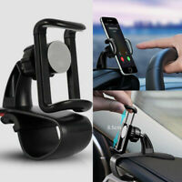 Universal Cell Phone GPS Car Dashboard Mount Holder Stand HUD Clip On Cradle Ty