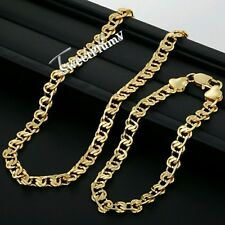 FREE Gift Real 9k 'Gold Filled' womens Necklace only Chain Birthday  present