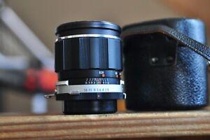 Miranda 25mm f2.8 Lens for Miranda and 135mm F2.8 with a Nikon adaptor