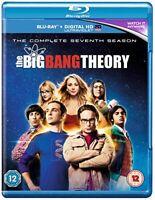The Big Bang Theory - Season 7 [Blu-ray] [2014] [Region Free] [DVD][Region 2]