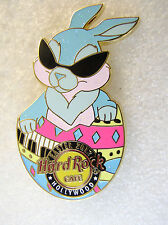 HOLLYWOOD CA,Hard Rock Cafe Pin,Easter Bunny 2012
