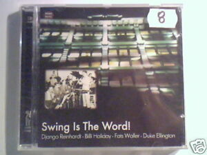 CD SWING IS THE WORD! BILLIE HOLIDAY DJANGO REINHARDT