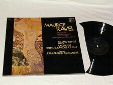 MAURICE RAVEL Scheherazade LP 1980 West Germany Harmonia Mundi NADINE DENIZE