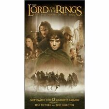 The Lord of the Rings: The Fellowship of the Ring (VHS, 2002) Great Movie!